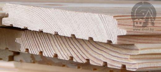 Имитация бруса в упаковке