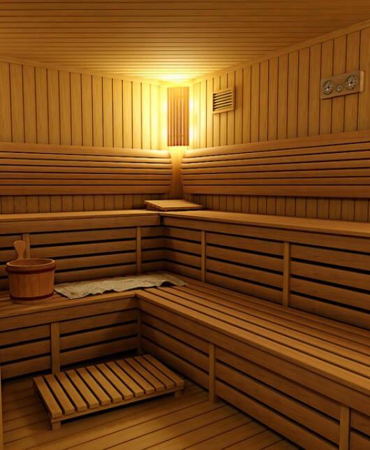 Использование полока для бани