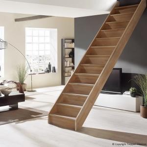 №2 Прямая лестница без ограждения