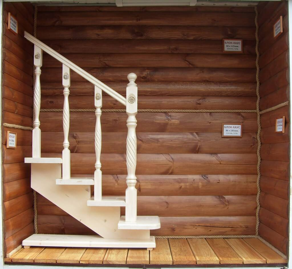 Продажа элементов и комплектующих для деревянных лестниц
